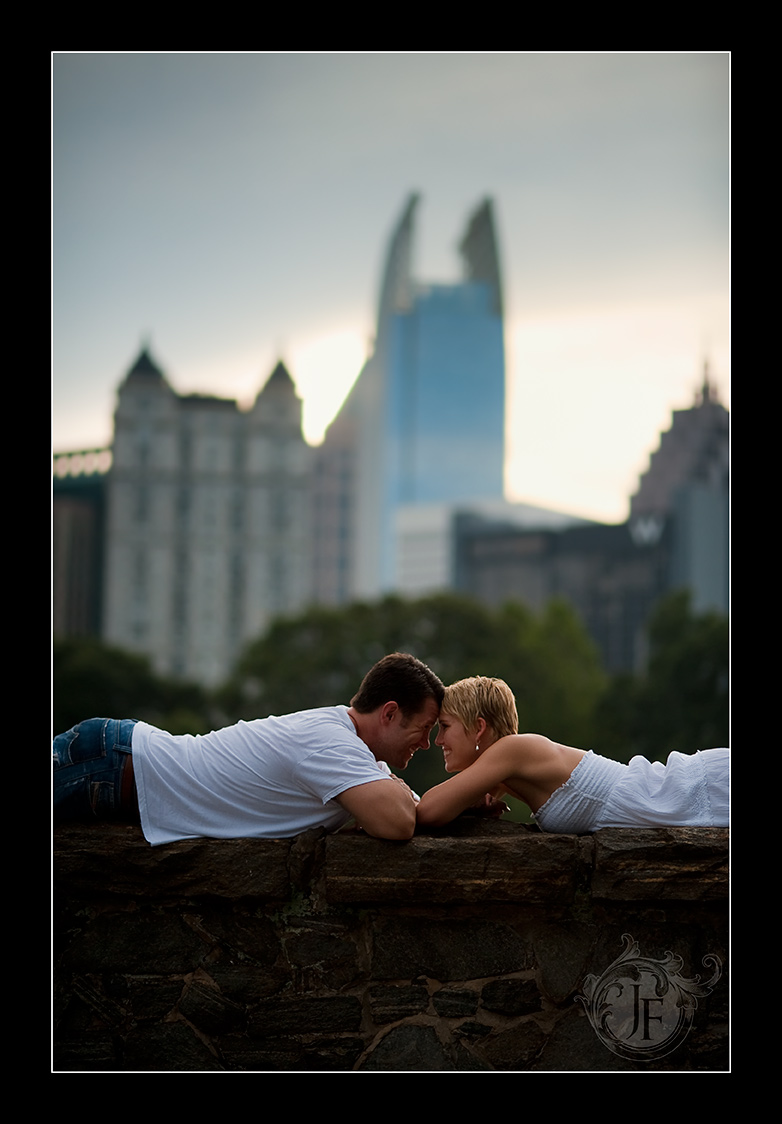 This is my favorite shot from the session; classic shot of a couple in love. (Nikon D3 - Nikkor 105mm f/2 DC)