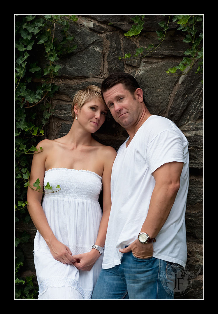Great shot by the ivy on the stone wall; this is a secret location (well it was...). (Nikon D3 - Nikkor 105mm f/2 DC)