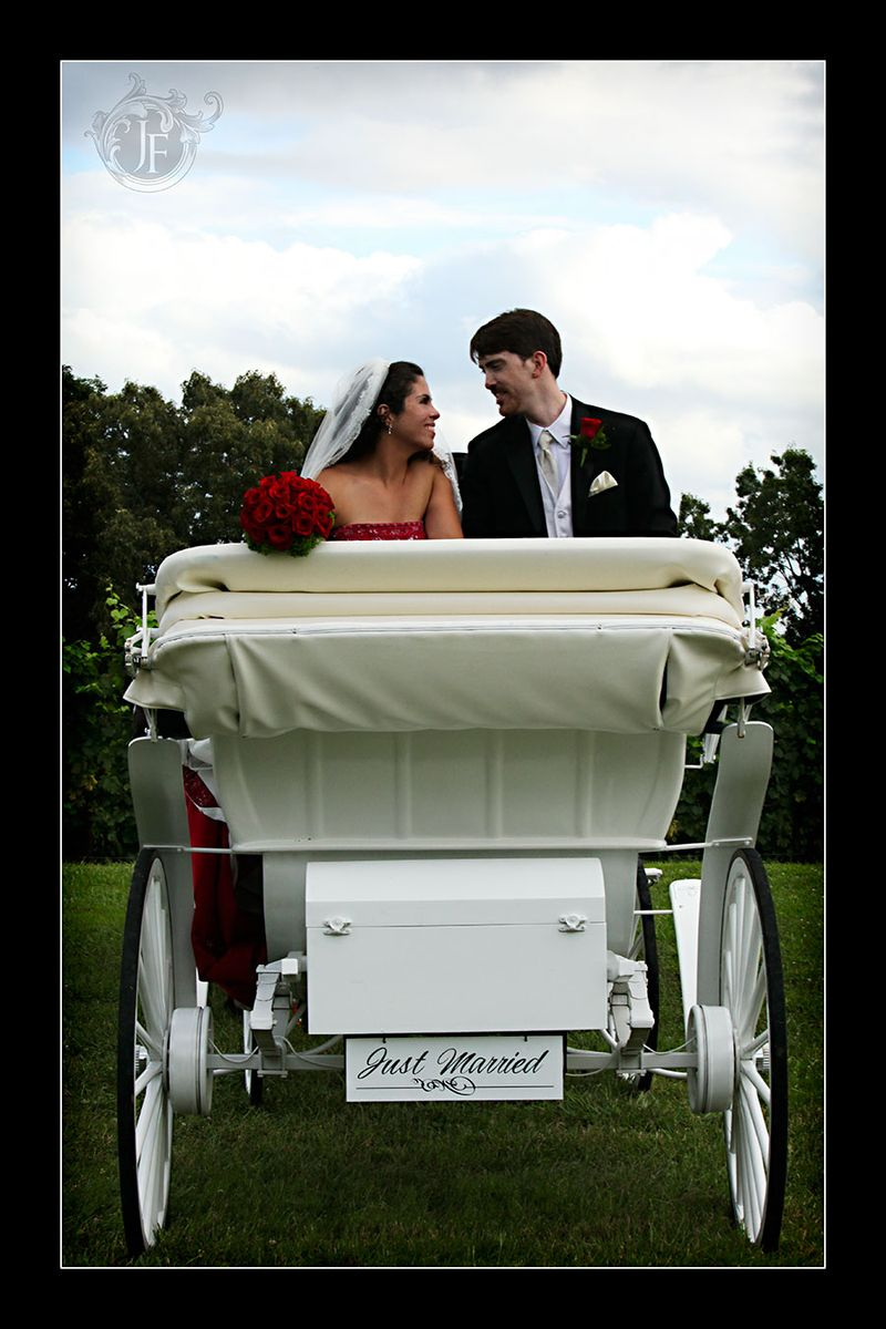 A beautiful moment before they celebrate with a carriage ride. (Kiristy Dickerson - Canon 5D Mk II)